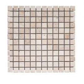 Mosaique Travertin 2.3x2.3cm