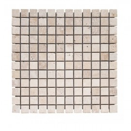 Mosaique Travertin 2.3x2.3cm