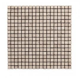 Mosaique Travertin 1.5x1.5cm