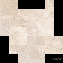 Crosscut Cream Modular