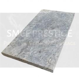 Margelle TRAVERTIN Silver 61 x 33 cm, ép.3 cm